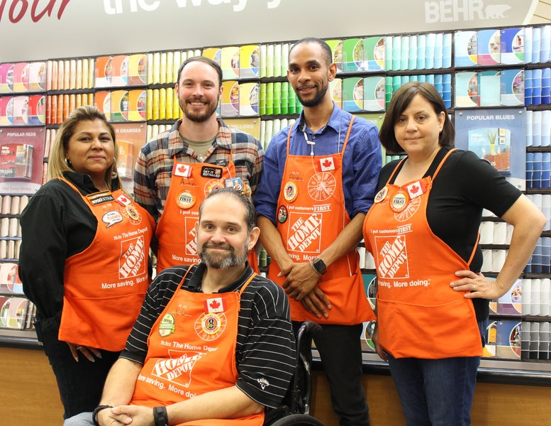 Top Employer Home Depot Of Canada Inc