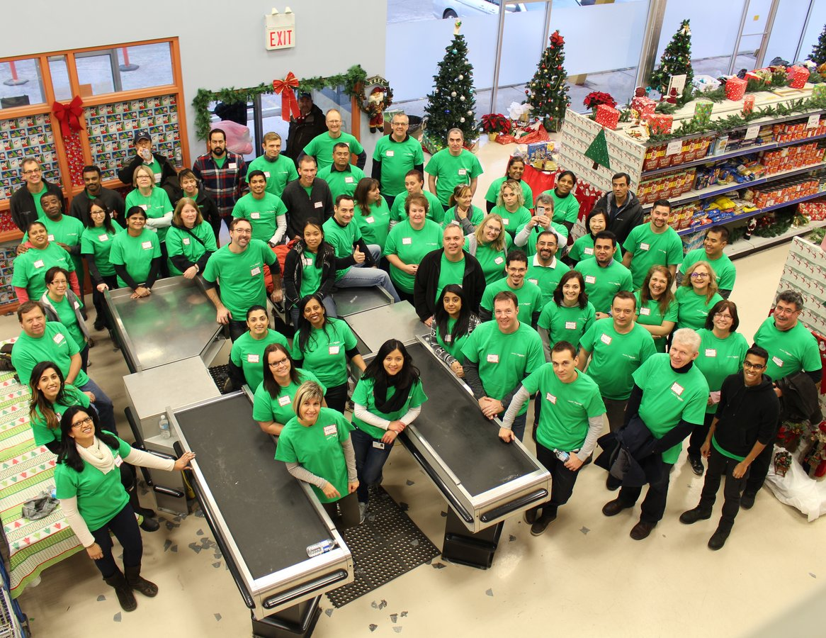 Top Employer Schneider Electric Canada Inc Electrical And Mechanical Classes Will Help Prepare Read Full Employees Volunteering At The Good Shepherds Christmas Marketplace